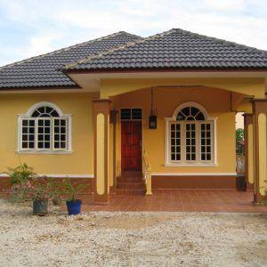 Contoh Model Rumah Idaman Sederhana Di Desa Paling Bagus Desain Depan Rumah Desain Rumah Bungalow Desain Rumah Kecil
