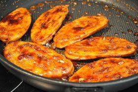What vegetarians eat: Balsamic Honey Quorn Fillets