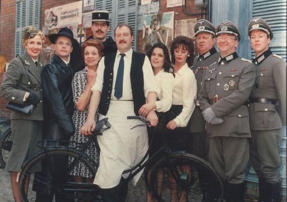 'Allo 'Allo! is a BBC television sitcom comprising eighty-five episodes. The story is set in a small-town café in Nazi-occupied France during World War II.