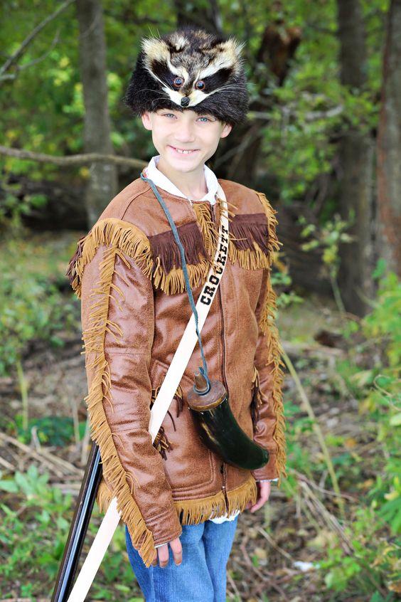 Davy Crockett Costume Alamo Texas History