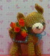 amigurumi fawn от Cutiesbymarce на Etsy, $45.00