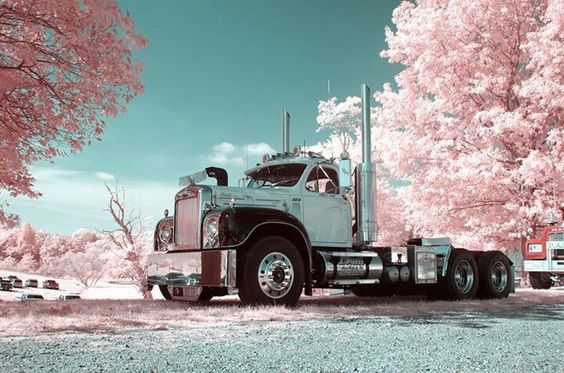 Beautiful old Mack truck.