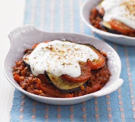 Low-fat moussaka -- A rich and comforting Greek classic without the calories, what's not to love?