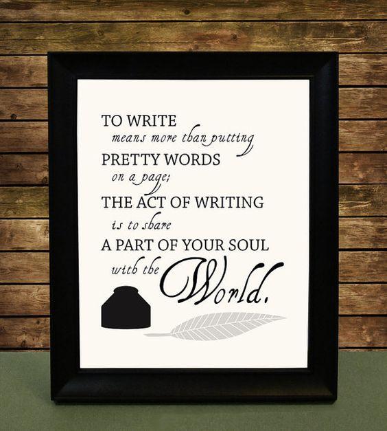 Every story has a little soul in it...