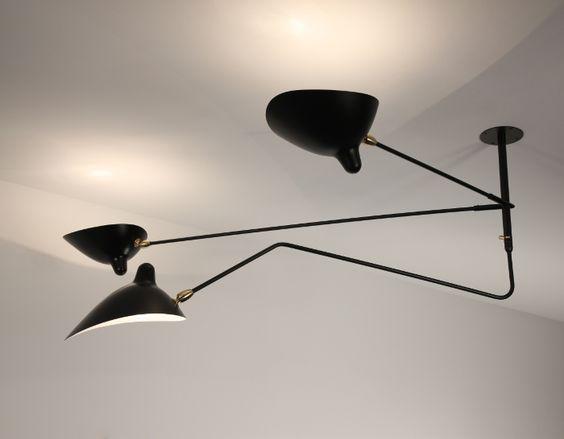 histoire de design les luminaires de serge mouille design balan oires et acier. Black Bedroom Furniture Sets. Home Design Ideas
