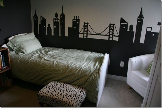 Skyline would love to do a city theme for either a play for City themed bedroom ideas