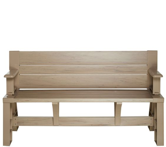 Convert A Bench Ultra Iii Outdoor 2 In 1 Bench To Table W