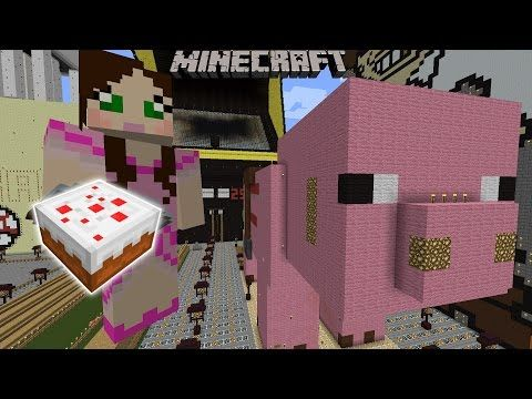 Minecraft Woosh Games THE EPIC SNOW FIGHT GAME Pat And Jen - Minecraft rollercoaster spielen