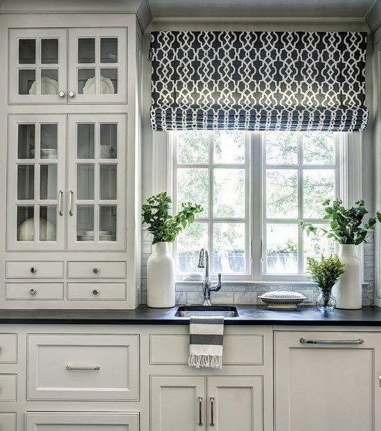 How To Choose Properly Kitchen Curtains 14 Helpful Creative Ideas Raffrollo Kuche Kuchen Design Haus Kuchen