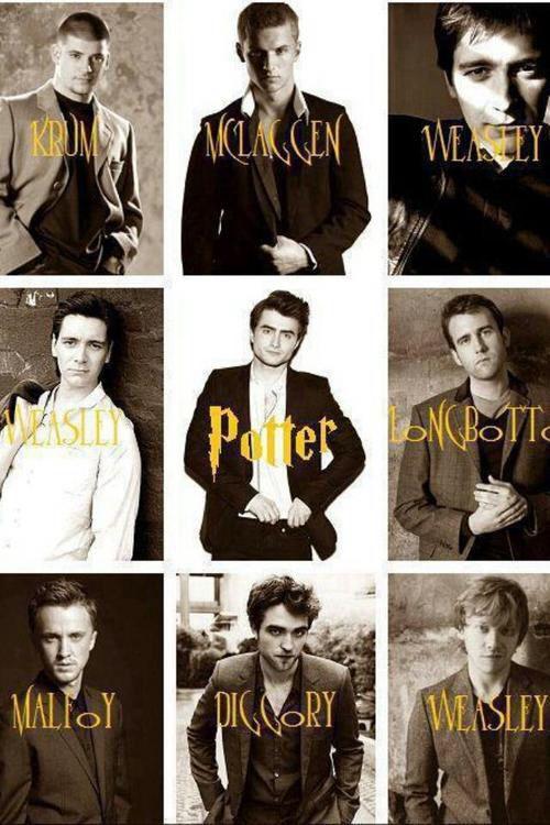 Boys Cedric Diggory Daniel Radcliffe Draco Malfoy Fred Weasley George Weasley Harry Potter James Phelps Harry Potter Obsession Harry Potter World Potter