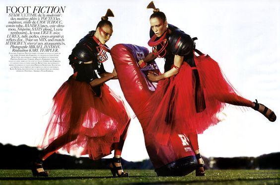 """Vogue Paris April 2007, """"Foot Fiction"""""""