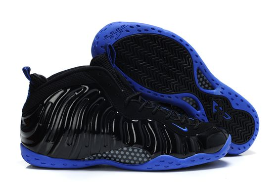 nike air foamposite one blue black $83.00 www.niceshoesu.com | ? SHOES |  Pinterest | Nike air, Yeezy and Swag