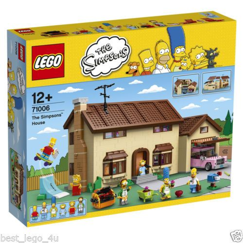 PREORDER LEGO 71006 THE SIMPSONS HOUSE