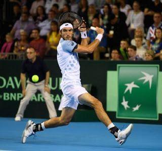 Blog Esportivo do Suíço:  Mayer decide e Argentina joga 5ª final da Copa Davis