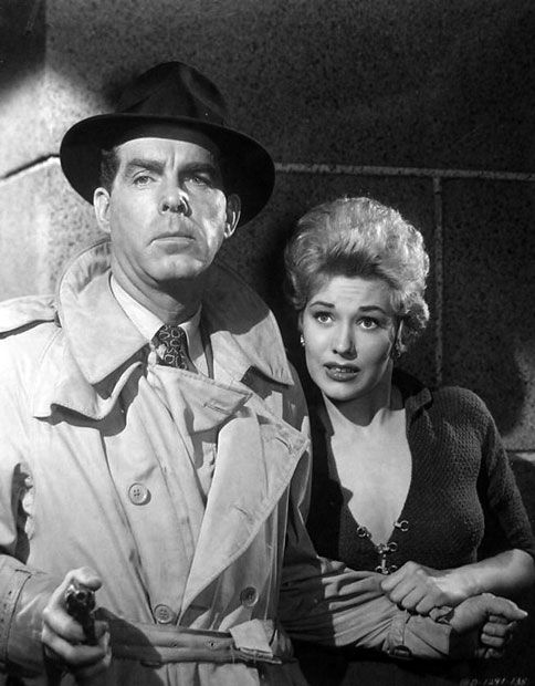 PUSHOVER (1954) Fred MacMurray & Kim Novak