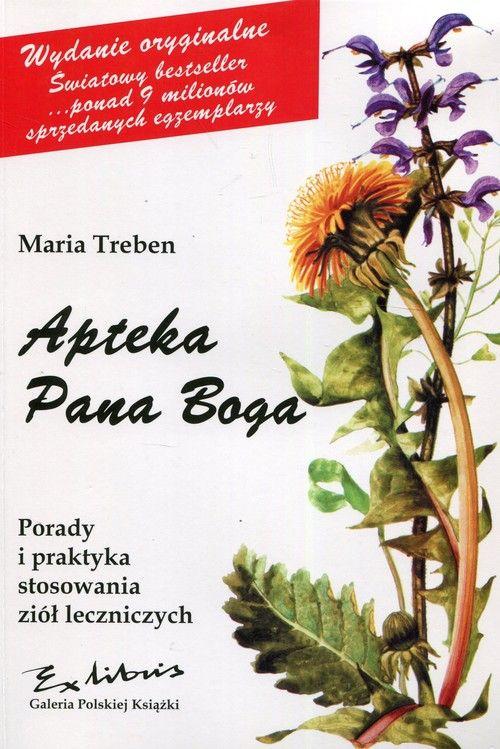 Apteka Pana Boga Treben Maria Ksiazka Selkar Herbs Plants Block And Tackle