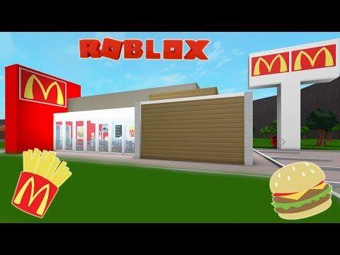 Roblox Bloxburg Mcdonalds Speed Build And Tour Youtube - roblox bloburg speed builds