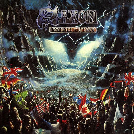 Saxon / Rock the Nations (1986)