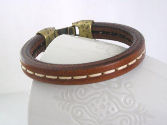 spanish leather bracelet $20.90