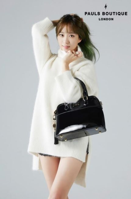 EXID's Hani for British bag brand 'Paul's Boutique'