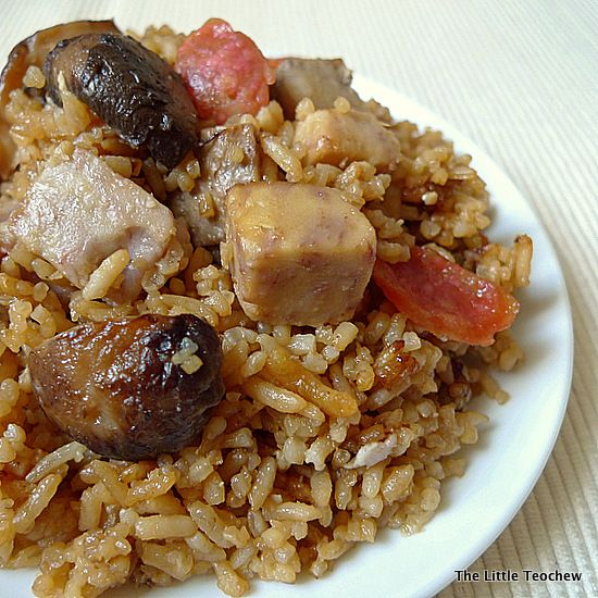 The Little Teochew: Singapore Home Cooking: Yam Rice ...