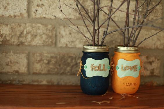 Add some fall charm to your home with our DIY fall jars! You can mix and match paint colors to personalize this project, then keep it or give it as a housewarming gift. Click-in for the full tutorial.