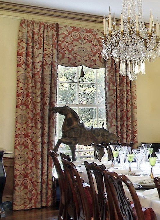 Formal Dining Room Window Treatments - Traditional Ideas to ...