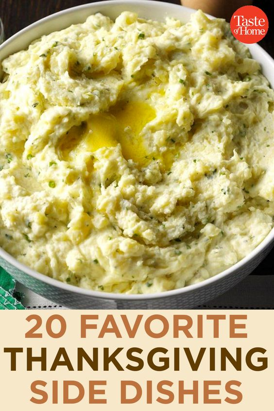 20 Favorite Thanksgiving Side Dishes