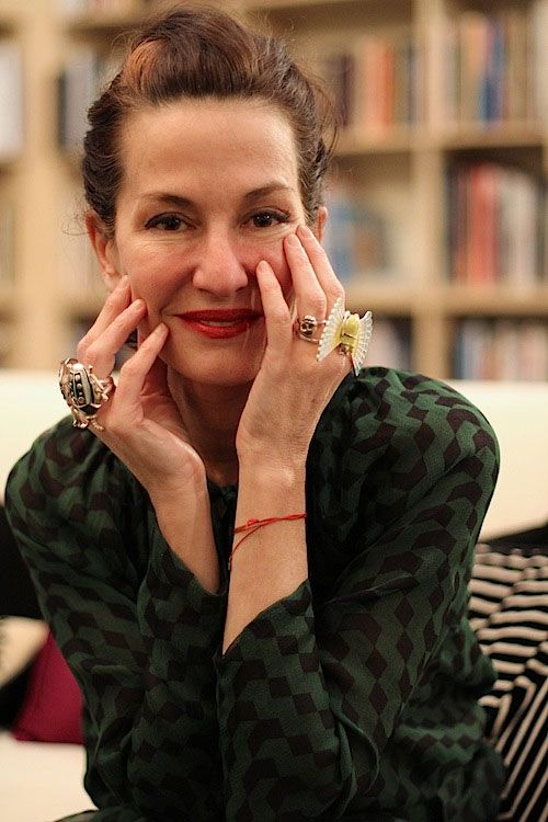 Cynthia Rowley, 54. We love Rowley for her work but also for her personal style. Her quirky, unexpected glam infuses everything she touches.