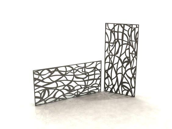 art panneau design d coupe laser laser cut panels racken racken metal made in france. Black Bedroom Furniture Sets. Home Design Ideas