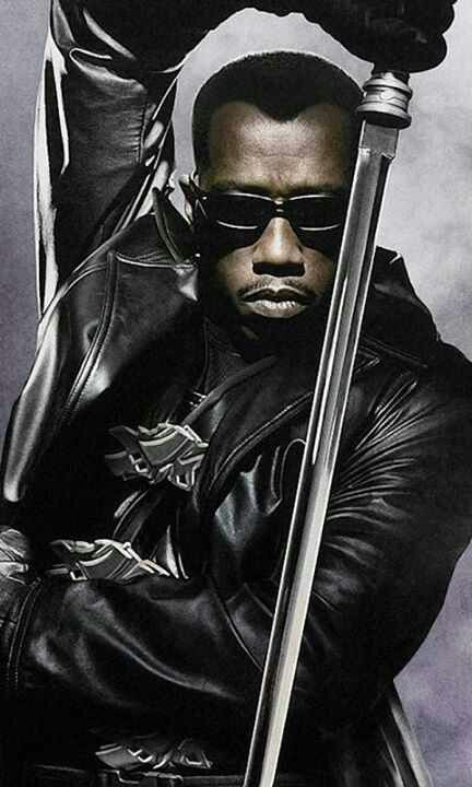 """Wesley Snipes in Blade; """"There are worse things out than vampires tonight."""""""