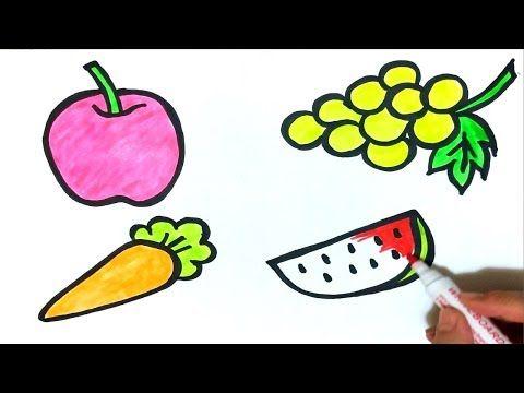 Meyve Cizimi Meyve Boyama Sayfasi Cocuklar Icin Meyveleri