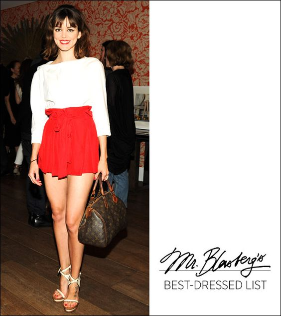 The Best Dressed: The Chicest Shorts, Plus More!
