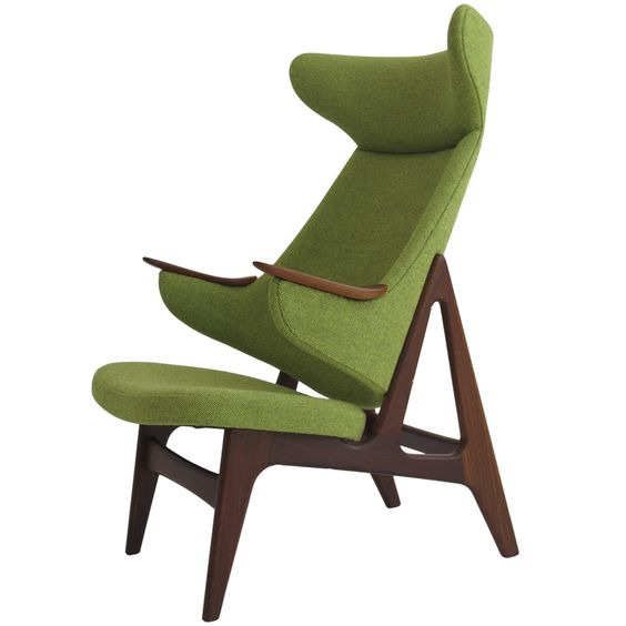 Danish Ox high-back chair  Denmark, 1950