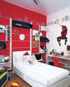 Dormitorio hombre ara a spiderman bedroom by dormitorios for Dormitorio varon