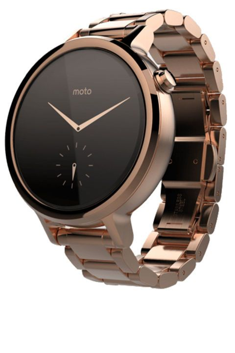 The best new tech accessories for every girl on the go to shop: Motorola's new Moto 360 smartwatch