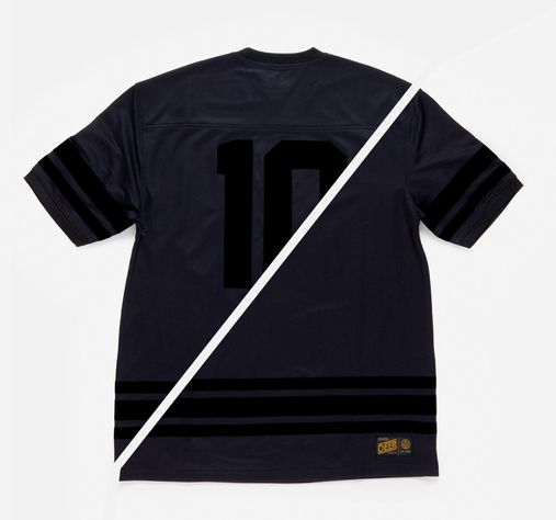 10DEEP / Zip Drive Mesh Football Jersey (Black)