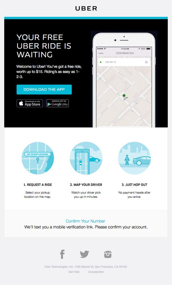Uber Sent This Email With The Subject Line Ready Set Ride
