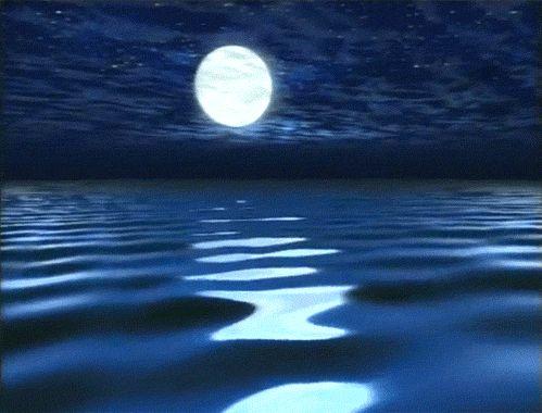 Resultado de imagem para gifs animados mundo da lua
