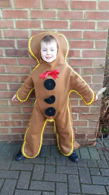 Gingerbread man for world book day.