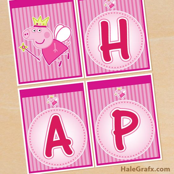 17 Best images about Aubrey Peppa Pig Party on Pinterest Paper