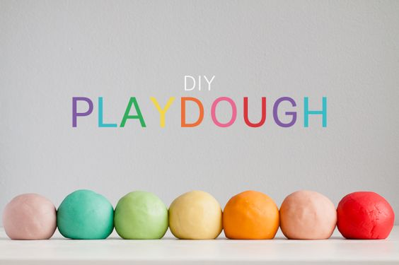 The best play dough recipe ever - uses Jell-O to make it super soft and smells great!