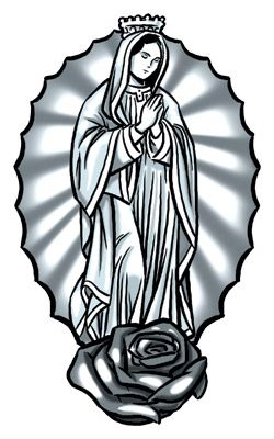 virgin mary 250 400 catholic tattoos pinterest search google and design tattoos. Black Bedroom Furniture Sets. Home Design Ideas