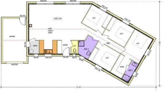 Plan maison neuve à construire - Logis du Marais Poitevin LMP Open - Violette…