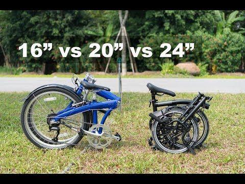 Brompton Vs Dahon Folding Bike A New Comparison Youtube