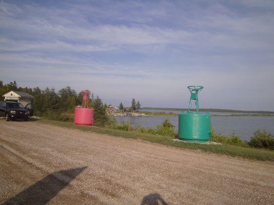Hwy 134 east along Lake Huron