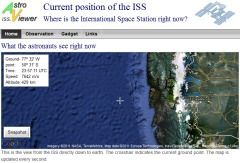 Amaze your class by showing them the International Space Station in the sky. This site shows you when it is visible.