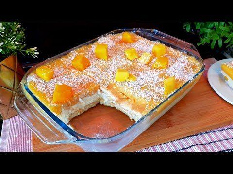 حلى البفاريا المنعش بنكهه جديده من الذ الحلويات البارده ما تحتاج بيض ولا كريمه Youtube Dessert Cake Recipes Baked Desserts Cakes Cake Desserts