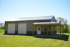 Image Result For Metal Shop Buildings With Living Quarters