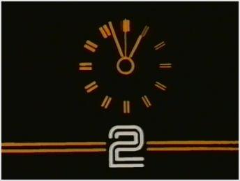 BBC2 clock-Early 1980's/Mid 1980's